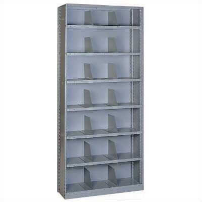Lyon Workspace Products Sliding Shelf Shelving - 21 Opening Unit