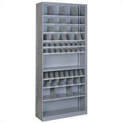 Lyon Workspace Products Sliding Shelf Shelving - 56 Opening Unit