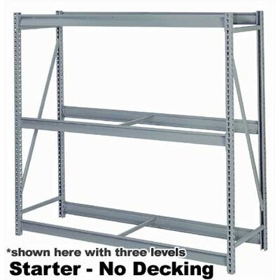 "Lyon Workspace Products 4 Tier Rack Units (84""W x 24"" D x 96""H)"