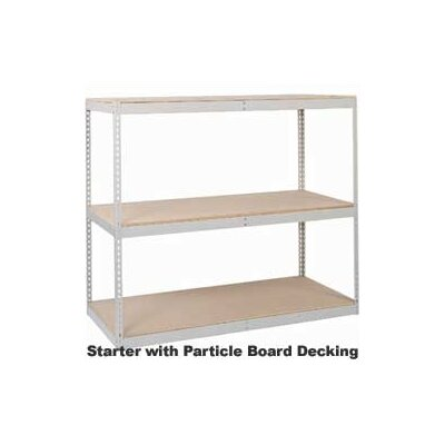Lyon Workspace Products 4 Level Record Storage Rack Units (40 Box Capacity)
