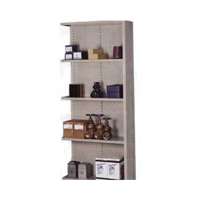 Lyon Workspace Products 8000 Series Closed Shelving - 5 Shelves: 84&quot; H x 36&quot; W x 18&quot; D