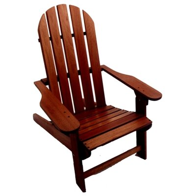 International Home Miami Folding Adirondack Chair