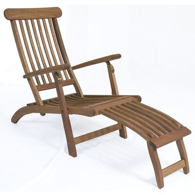 International Home Miami Amazonia Steamer Lounge Chair