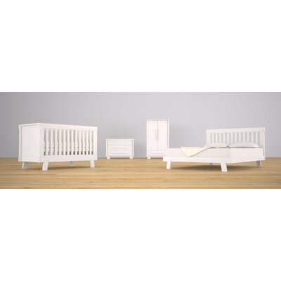 Boori USA Lucia Convertible Crib Set