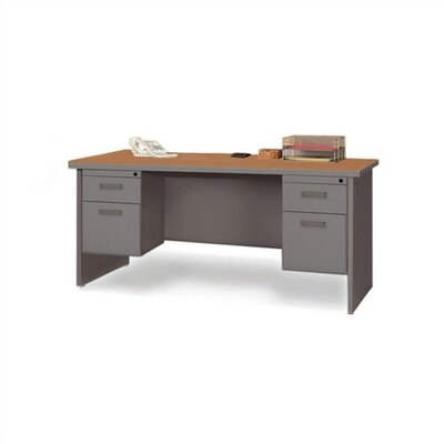 Marvel Office Furniture Pronto Contemporary Double Pedestal Credenza