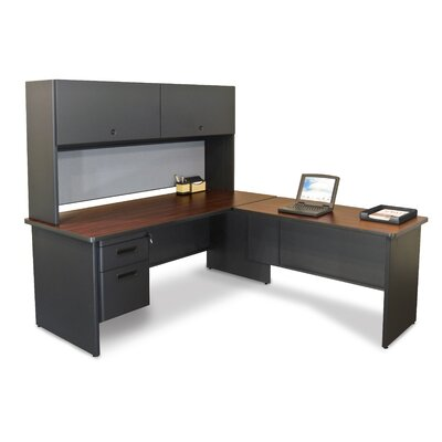 Marvel Office Furniture Pronto Computer Desk with Return