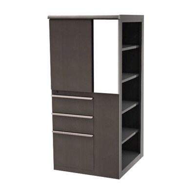 Marvel Office Furniture Ensemble Personal Left Storage Shelf Tower