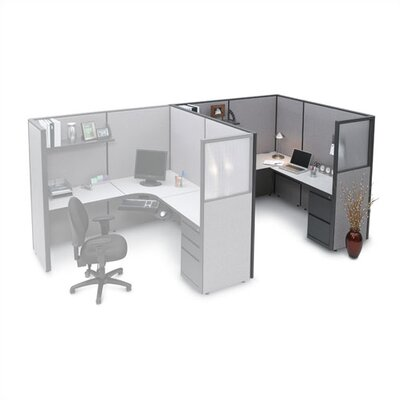 Storlie L Shaped Workstation