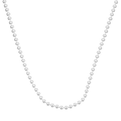 Sterling Essentials Sterling Silver Palline Chain