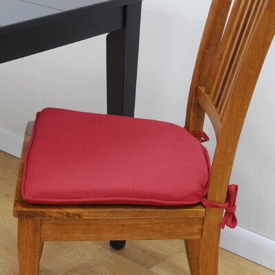 Tailor Made Mission Style Chair Pad (Set of 2)