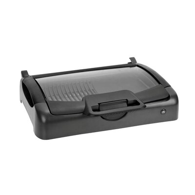 Kalorik Indoor / Outdoor Carry Grill with Glass Lid