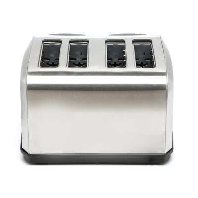 Kalorik 4 Slice Stainless Steel Toaster