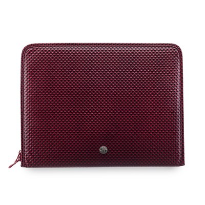 Netbook Sleeve Diamond Pillow in Red
