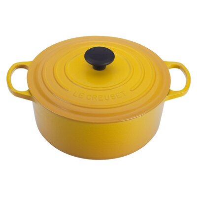 Enameled Cast Iron 7 1/4-Qt. Round Dutch Oven