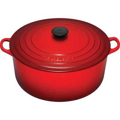 Enameled Cast Iron 13 1/4-Qt. Round Dutch Oven
