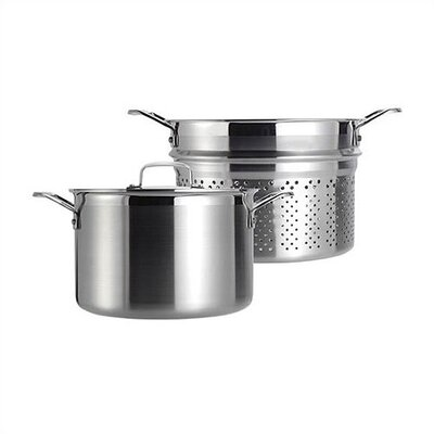 Stainless Steel 7.5-qt. Multi-Pot