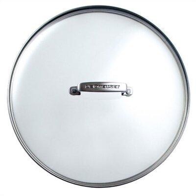 "Le Creuset 12"" Glass Lid for Forged Hard-Anodized Fry Pans"