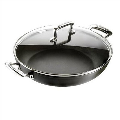 Forged Hard-Anodized Covered Shallow Casserole