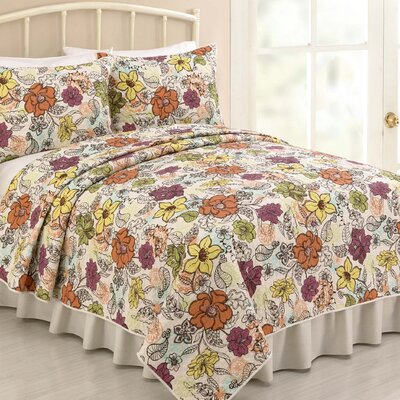 Mary Jane's Home Ginger 3 Piece Quilt Set