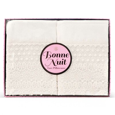 Bonne Nuit Cotton Pillowcase
