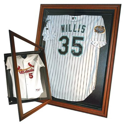 Caseworks International Jersey Display with Cabinet Style