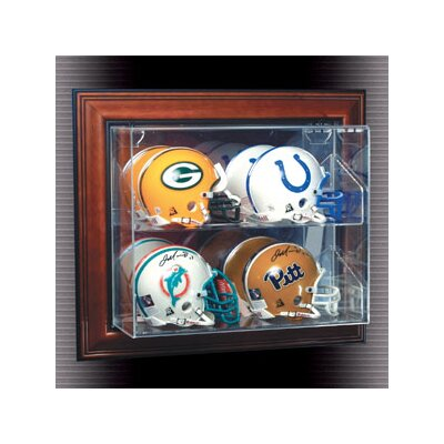 "Caseworks International Four Mini Helmet ""Case-Up"" Display"