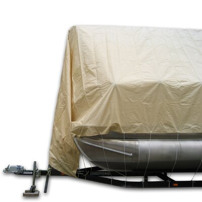 Navigloo 23 to 24 ft Storage System Pontoon with Tarpaulin Cover (does not cover motor)