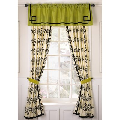 Cocalo Couture Shadows Velvet Rod Pocket Curtain Panel Pair