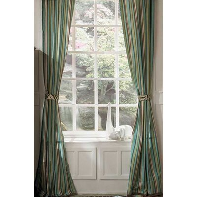 Cocalo Couture Bali Window Drape Panel Pair with Tiebacks