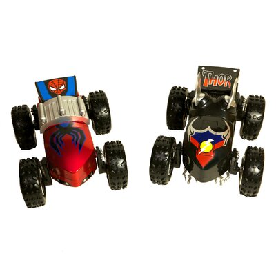 Regenerators Thor and Spiderman 1/24 Scale Vehicle Set