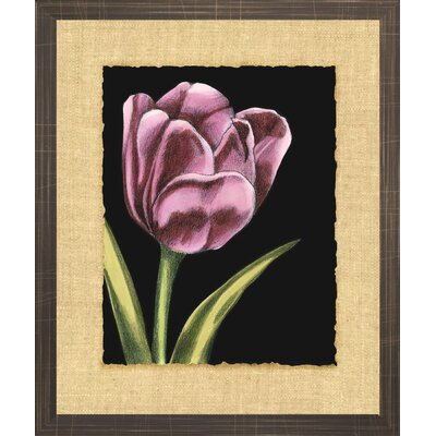 Indigo Avenue Floral Living Vibrant Tulips III Framed Wall Art