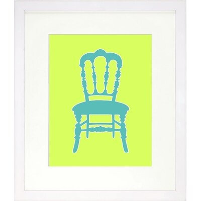 Vibrant Living Graphic Chair III Framed Wall Art