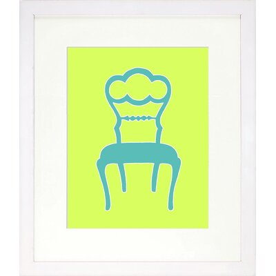 Vibrant Living Graphic Chair IV Framed Wall Art