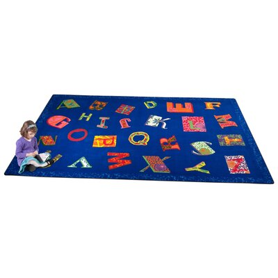 KidCarpet.com Patchwork ABC Kids Rug