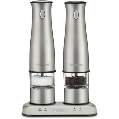 Cuisinart Rechargeable Salt & Pepper Mills in Stainless Steel