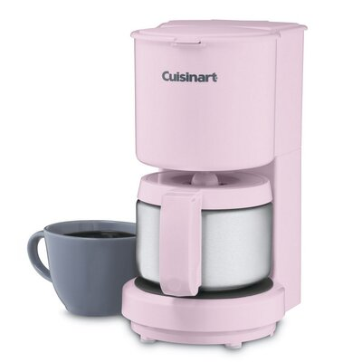4 Cup Coffee Maker with Thermal Carafe