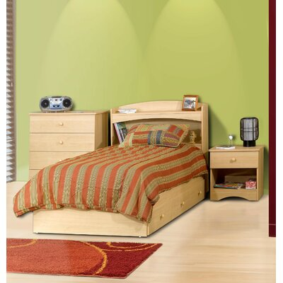 Nexera Alegria Bookcase Twin Headboard