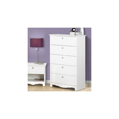 Nexera Dixie 5-Drawer Chest