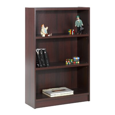 "Nexera Essentials 48"" X 31"" Tall Bookcase in Mahogany"