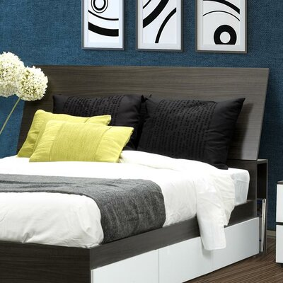 Nexera Allure Storage Headboard