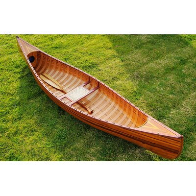 Old Modern Handicrafts Canoe with Ribs Curved bow 10 feet