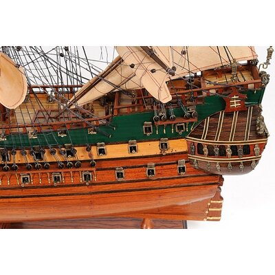 Old Modern Handicrafts Friesland Ship