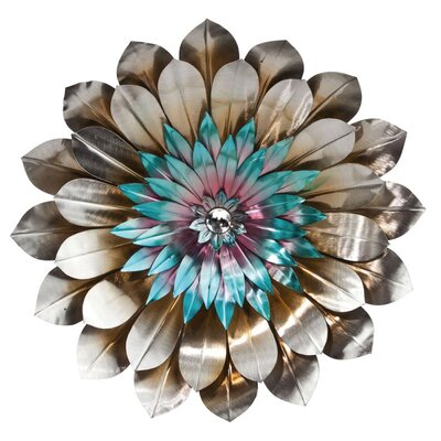 Metal flower wall decor 28 images metal flower wall for Decoration murale wayfair