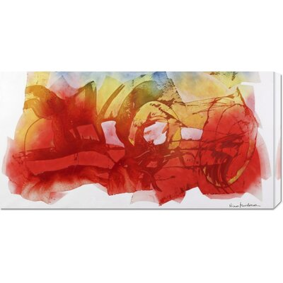 Global Gallery 'Venerdi 12 Marzo 2010 B' by Nino Mustica Stretched Canvas Art