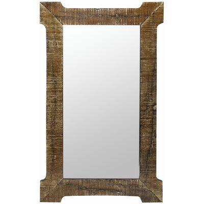 Cooper Classics Branford Mirror in Distressed Natural Rustic Wood