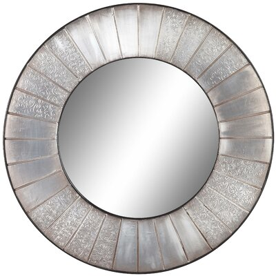 Cooper Classics Clifton Mirror in Distressed Silver