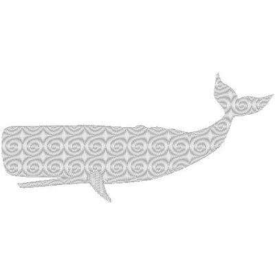 Nantucket Bound Whale Sunbrella Fabric Indoor/Outdoor Pillow