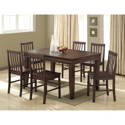 Home Loft Concept Ashlyn 7 Piece Fancy Dining Set