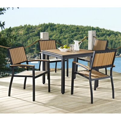 Home Loft Concept All-Weather 5 Piece Dining Set