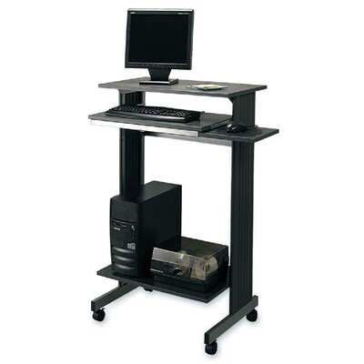 Buddy Products Stand-Up Workstation, 29-1/2&quot;x19-5/8&quot;x44-1/4&quot;, CCL/SR